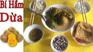 Đi mót bí về nấu bí hầm dừa | Ánh Dương Cuộc Sống Miền Tây