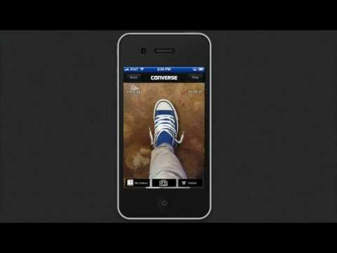 iPhone demo  Converse Shoe Sampler app on the iPhone 4S - YouTube 3ce28f7365