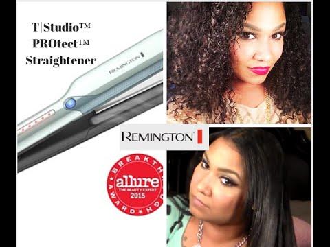 Remington T Studio PROtect Vapor Infusion Hair Straightener Review
