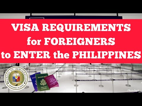 Foreign Nationals Who Are Immediate Families Of Filipinos: Visa Requirements