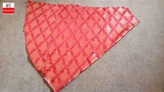 umbrella plazzo cutting and stitching || circular pant plazo making tutorial