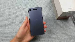 [UNBOXING] Sony Xperia XZ1 Moonlight Blue - First Impressions