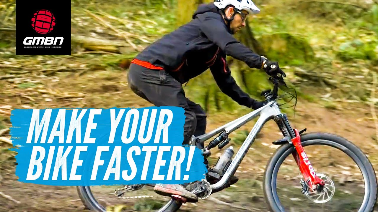 4 Ways to Make Your Mountain Bike Faster | How To Set Up A Faster MTB