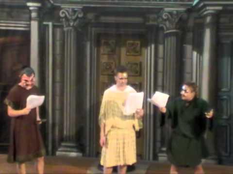 Plautus Pseudolus Staged Reading