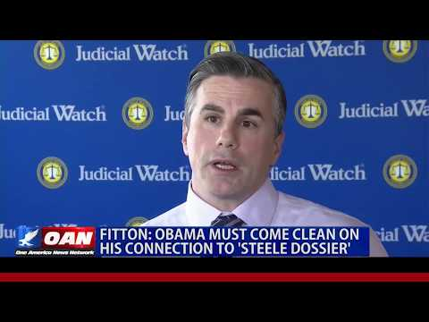'Obama Must Come Clean on His Connection to Trump Dossier': JW President Tom Fitton