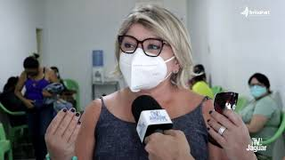 ALTO SANTO: Deputado Estadual Audic Mota e Ex-prefeita Íris Gadelha na realização de...