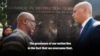 The Tulsa Massacre - Senator Cory Booker Visits Black Wall Street