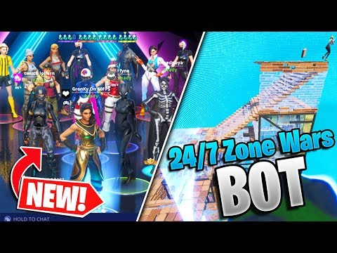 NEW 24/7 Zone Wars BOT - Play Zone Wars ANY TIME! (Fortnite Storm Wars/Zone Wars)