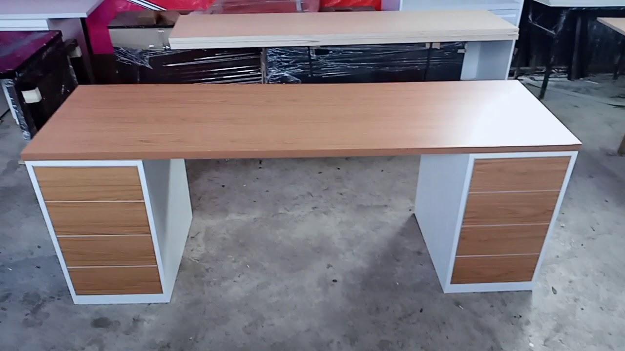 Cara membuat meja kerja panjang kantor dan lainnya bekasi ...