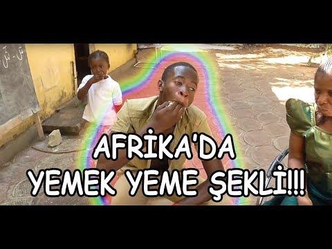Afrika' da Yemek Yeme Şekli