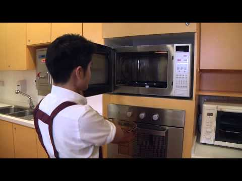 How to cook brown rice with a microwave oven