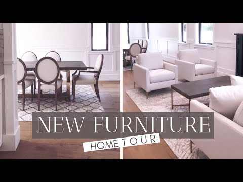 We Got Furniture!!  New Furniture / Home Tour