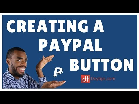 How to add PayPal to your website | Create PayPal button to receive website payments