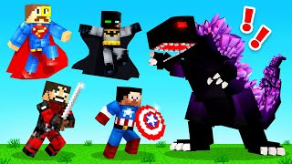 FIGHTING Crazy Craft BOSSES (Minecraft)