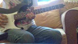 Avenged Sevenfold - Sidewinder full solo cover (Distorted Guitar)