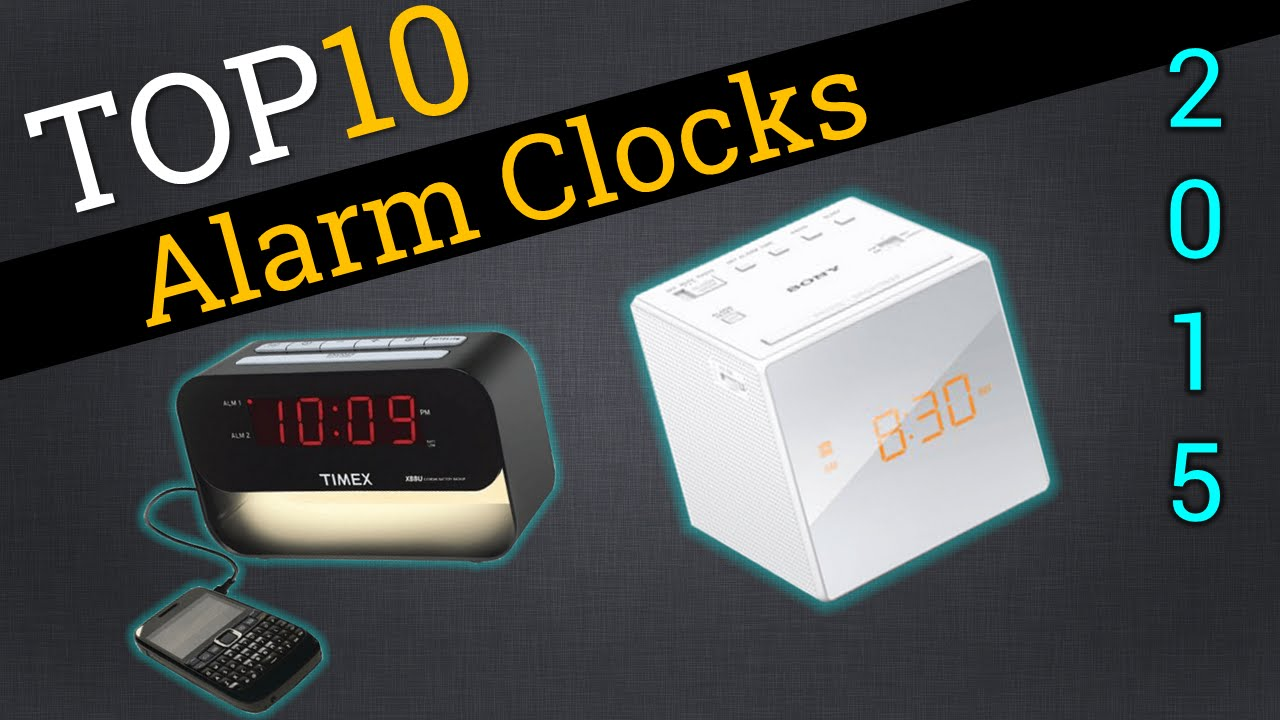 Top Ten Alarm Clocks 2015 Compare Best Alarm Clocks Youtube