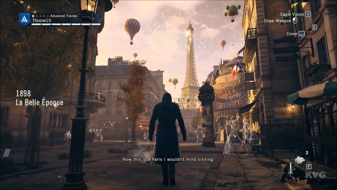 Assassin S Creed Unity Paris 1898 La Belle Epoque Tour
