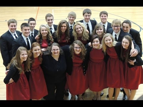 Des Moines Christian School's 2013-2014 Victory chamber choir