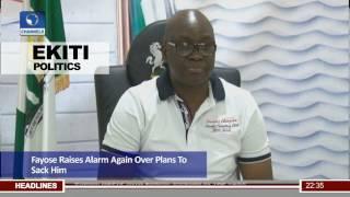 Ekiti Politics: Fayose Raises Alarm Over Plans To Unseat Him