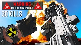 Getting my 1st NUKE (30 kills) with the NEW Gun! (Call of Duty: Modern Warfare, Season 1)