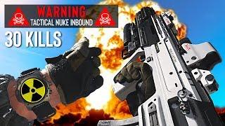 Getting my 1st NUKE (30 kills) with the NEW Gun! (Call of Duty: Modern Warfare, Season 1)