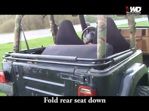 How to Install a Bestop Duster Deck Cover on a TJ Wrangler YouTube