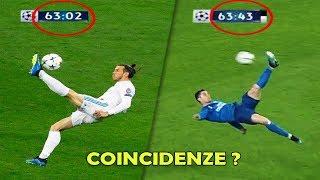 Top 5 Goal e Coincidenze più SIMILI nel Calcio !!!