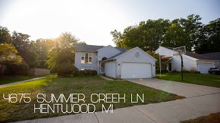 SOLD: 4675 Summer Creek Ln SE, Kentwood, MI