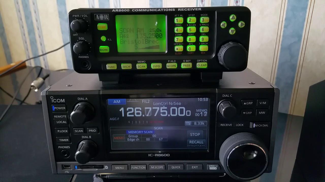 R8600 - Icom IC-R8600 v AOR 8600 Mk2   RadioReference com Forums