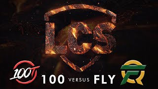 100 vs FLY | Week 8 | Summer Split 2020 | 100 Thieves vs. FlyQuest