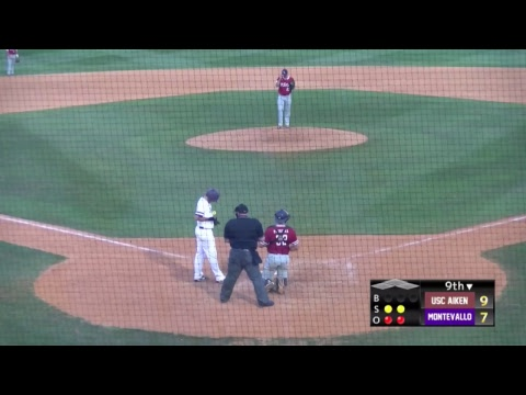 Montevallo Baseball vs. USC Aiken (Game 2)