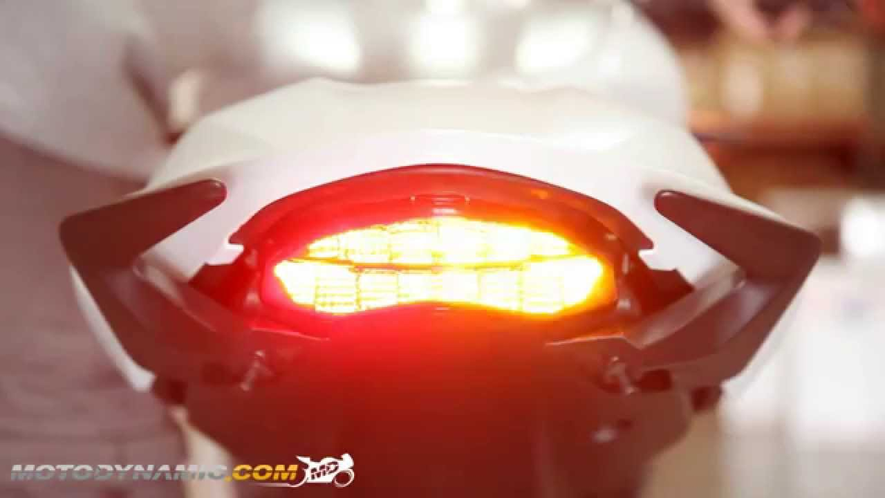Ducati Monster Sequential Led Tail Lights