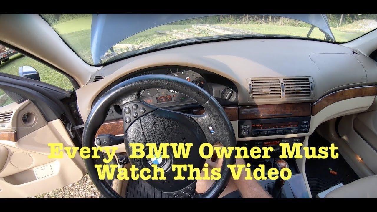 BMW E39 E46 M54 M52 No Start And Rough Idle Fix