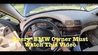 BMW E39 E46 M54 M52 No Start And Rough Idle Fix