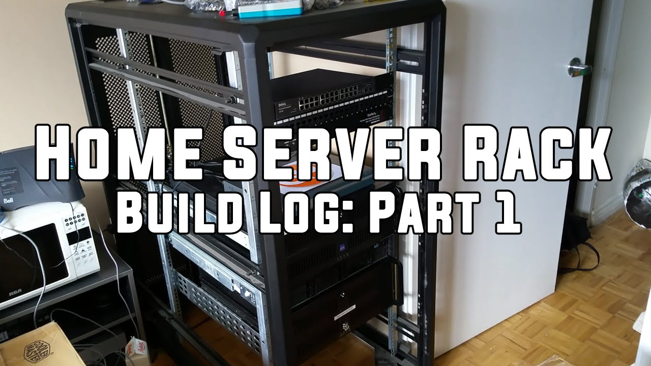 Home Server Rack Build Log Part 1