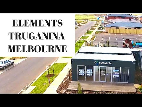 AERIAL VIEW OF ELEMENTS TRUGANINA MELBOURNE