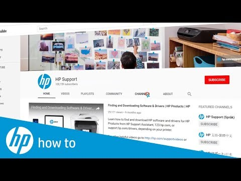 HP Support Channel Intro