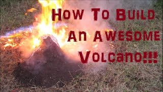 How To Make a Volcano (Science Project) Experiment Not For Kids!