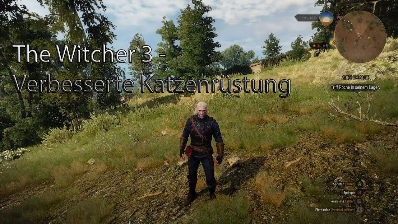 Katzenrüstung Witcher 3