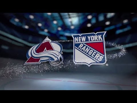 Colorado Avalanche vs New York Rangers - October 5, 2017  Game Highlights  NHL 2017/18. Обзор матча