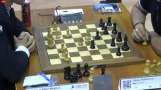 Чемпионат мира 2014 по блицу тур 10 Карлсен - Накамура, Шотландская партия thumbnail