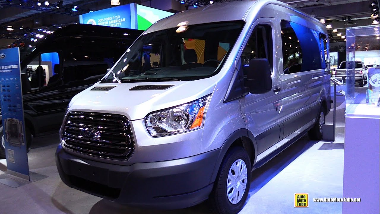 2015 ford transit 350 xlt passenger van exterior and interior walkaround 2015 new york auto show youtube