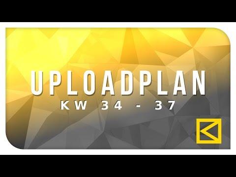 Die Zukunft im August und September | Info Kaoztainment | Uploadplan