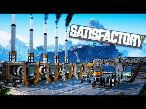 Built The Unlimited Energy Source With Coal in Satisfactory