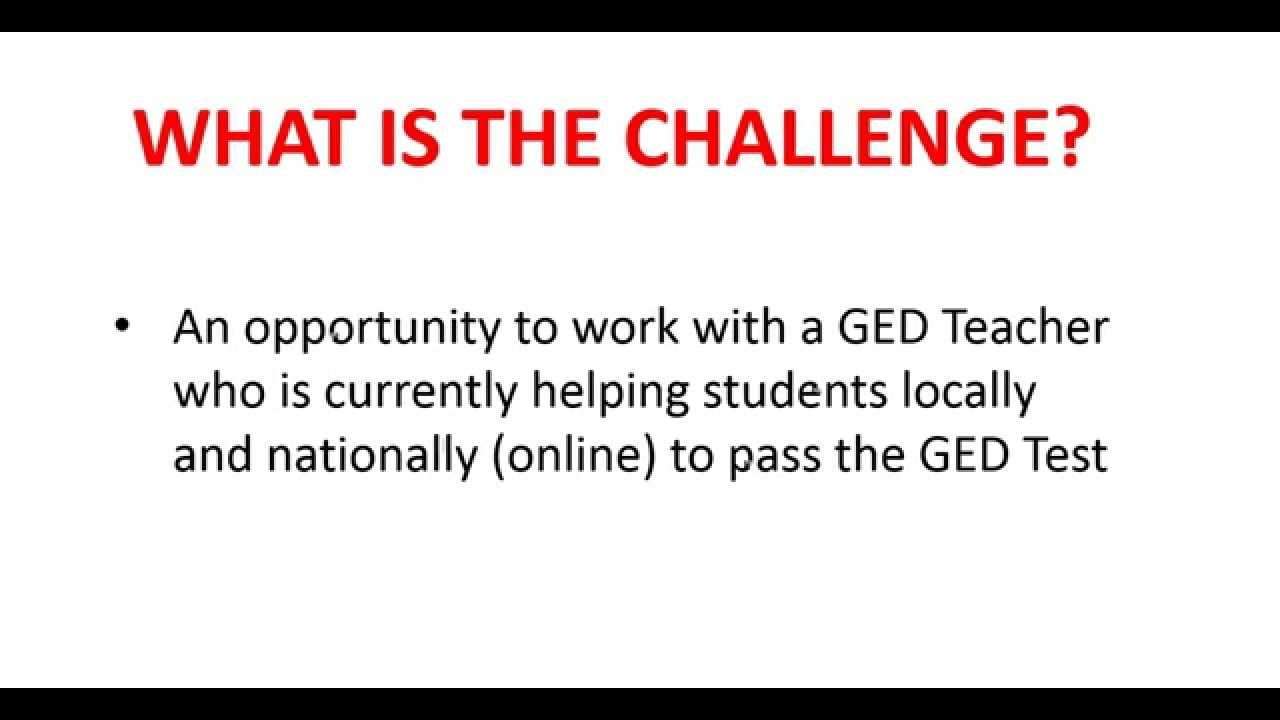 pbs ged essay Log in to pbs learningmedia and unlock tons of features that will help this video segment originally appeared in ket's ged background essay.