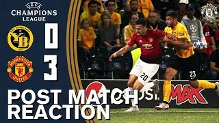 Dalot & Smalling delighted with winning start | BSC Young Boys 0-3 Manchester United | UCL 2018/19