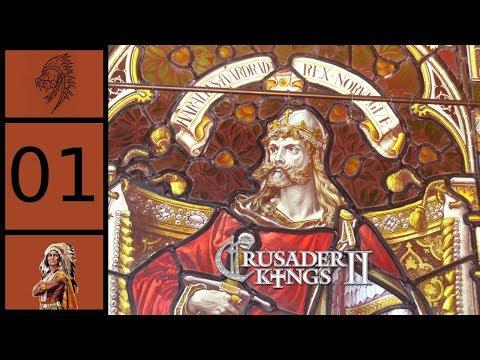 Crusader Kings 2 - Holy Fury - Harald Hardrada #1 - Siege Of Jorvik