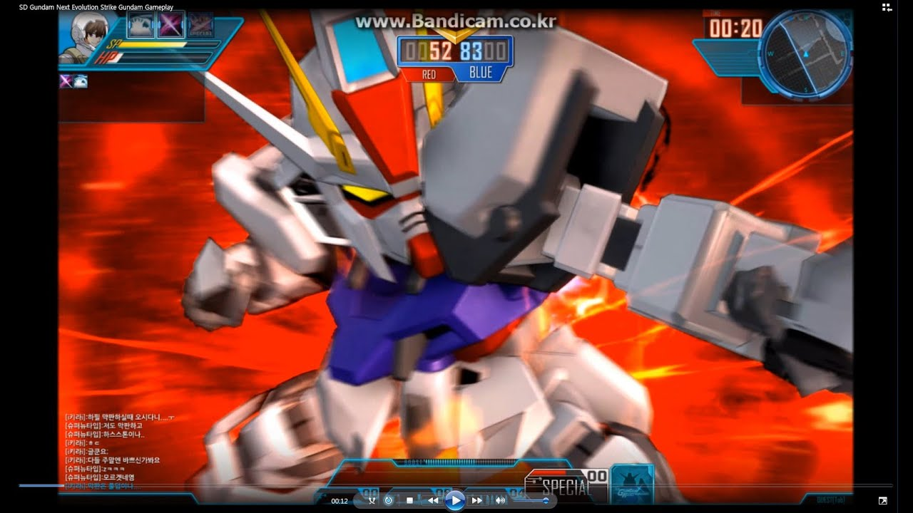 Sd Gundam Next Evolution Strike Gundam Sdgn Newtype