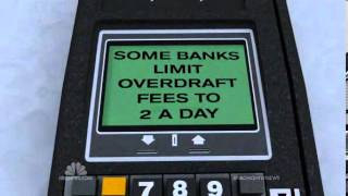 NBC Nightly News: Banks rack up big overdraft fees