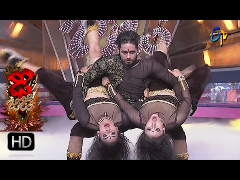 Vinay and Rishika Performance | Dhee Jodi | 15th February 2017| ETV Telugu